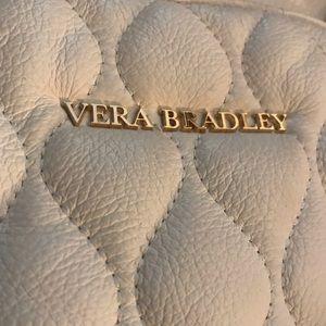 Vera Bradley 100% Leather Emma Tote & Dust Cover